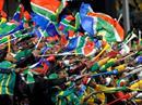 Südafrika im Fussball-Fieber.