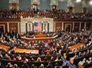 Plenarsaal des US-Repräsentantenhauses.
