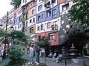 Das Hundertwasser-Haus in Wien.