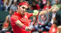 In der 2. Runde trifft Roger Federer auf den Amerikaner Sam Querrey oder einen Qualifikanten.