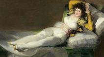 Goya: La maja vestida (1800-1807).