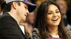 Stolze Eltern: Mila Kunis und Ashton Kutcher im Babyglück.