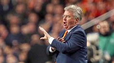 Trainer Guus Hiddink.