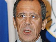 Der russische Aussenminister Sergej Lawrow will den Geldfluss nach Georgien stoppen.