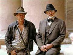 Harrison Ford und Sir Sean Connery ind «Indiana Jones und der letzte Kreuzzug».