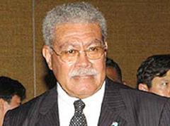 Ministerpräsident Laisenia Qarase wurde abgesetzt.