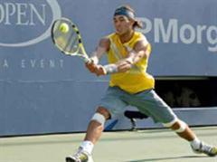 Rafael Nadal war sichtbar nicht in Topform.