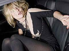 Kate Moss im September vor dem Bungalow 8 Nightclub in London.