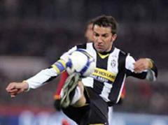 Del Piero verlängert bei Juventus Turin.