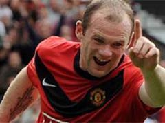 Wayne Rooney jubelt nach dem 1:0.