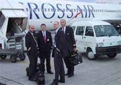 Crossair-Pilotenschaft ermächtigt zum Streik.