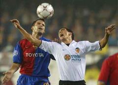 Basel - Valencia, Champions League