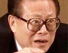 Jiang Zemin sprach sein Beileid aus.