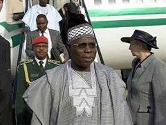 Präsident Olusegun Obasanjo.