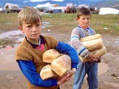 10´000 albanische Flüchtlinge wurden transportiert.