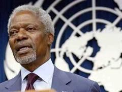 Er akzeptiere die Kritik, sagte Annan vor dem UNO-Sicherheitsrat.