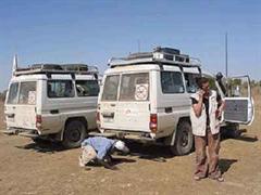 Ärzte ohne Grenzen hat die meisten Mitarbeiter aus Darfur abgezogen. (Symbolbild)
