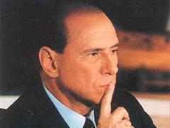 Silvio Berlusconi will eine Badehose-Figur.