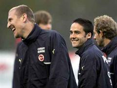 Stephan Grichting und Ricardo Cabanas.