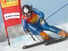 Dominique Gisin sorgte für die positive Überraschung im Schweizer Team. (Archivbild)