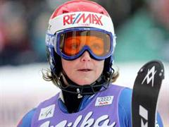 Sonja Nef war 2001 Weltmeisterin im Riesenslalom.