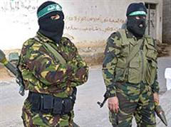 Bewaffnete Hamas-Aktivisten. (Archivbild)