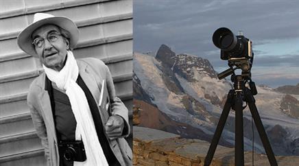Der Zürcher Fotograf René Burri.