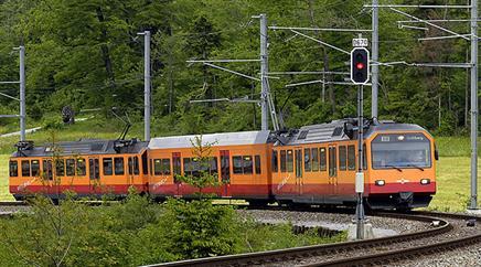 Der Vorfall ereignete sich in einem Zug der Sihltal-Zürich-Uetlibergbahn.