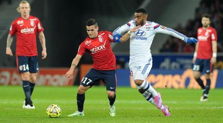 Lyon verlor in Lille mit 1:2.