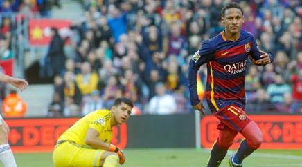 Neymar schnürte gegen San Sebastian einen Doppelpack.