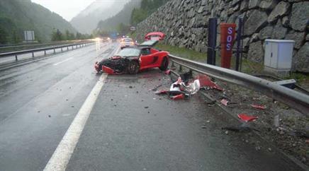 Teurer Crash.