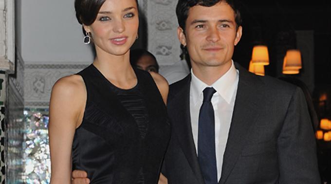 Nennen ihren Sohn Flynn: Orlando Bloom und Frau Miranda Kerr.