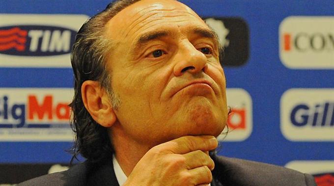 Italiens neuer Coach Cesare Prandelli.