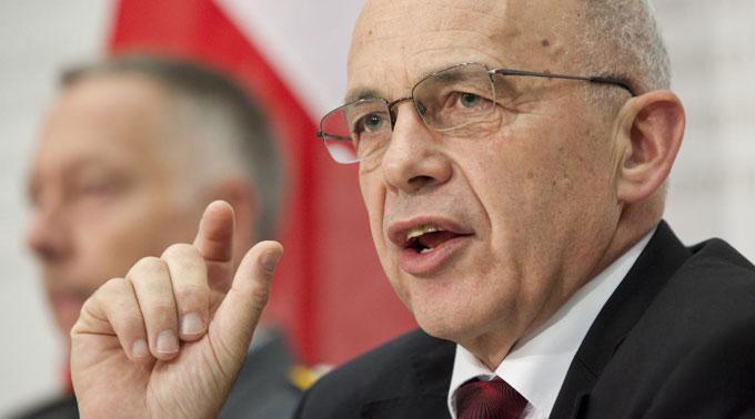 Bundesrat Ueli Maurer.