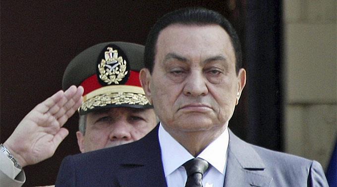 Husni Mubarak.