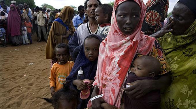 Somalische Flüchtlinge: Immer mehr Fälle von Unterernährung.
