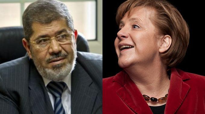 Muslimbruder und Hochfinanzschwester im Geiste? Mursi und Merkel