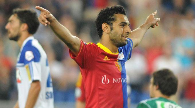 Mohamed Salah erzielte sein erstes Tor in der Super League.