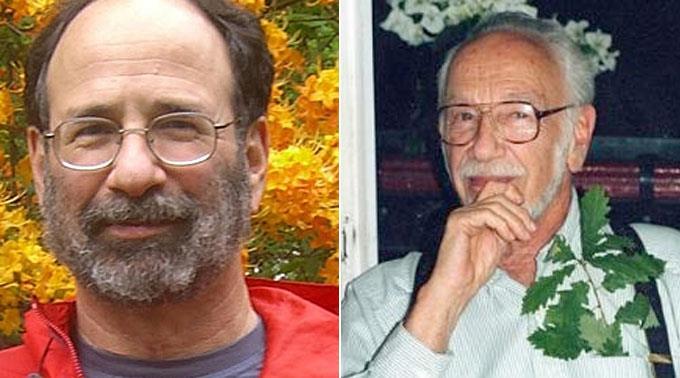 Alvin Roth (l.) und Lloyd Shapley.
