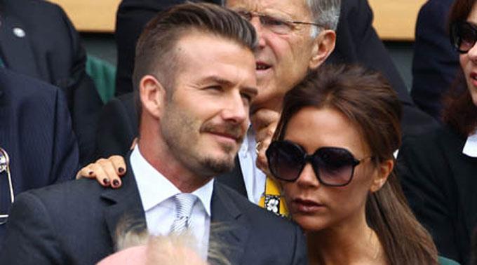 Victoria und David Beckham suchen in London nach einem grossen Haus.