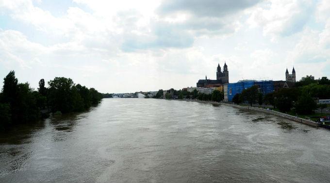 Kritische Lage in Magdeburg.