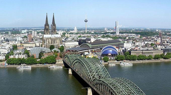 Köln am Rhein: Patt im Stadtrat.