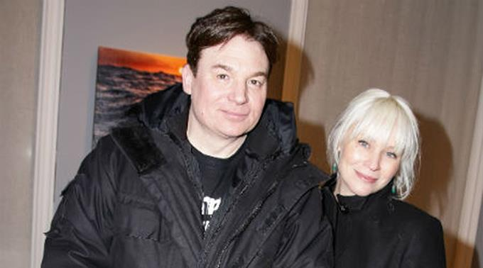 Mike Myers und seine Frau Kelly Tisdale.