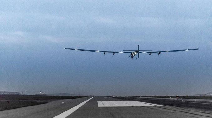Solar Impulse hebt wieder ab.