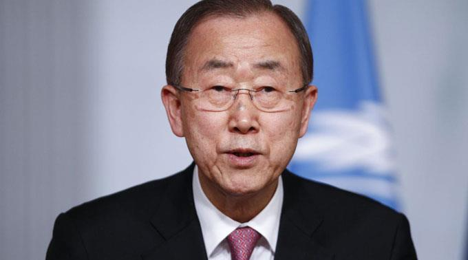 Ban Ki Moon kritisiert Jemens verhalten scharf.