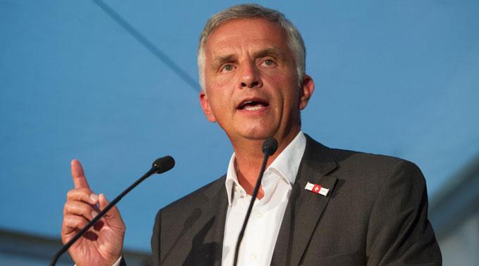 Didier Burkhalter fordert die Stärkung des Menschenrechtsrats.
