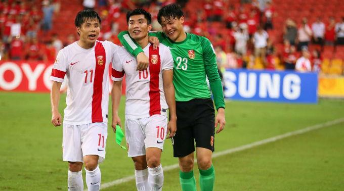 China belegt in der FIFA-Weltrangliste Platz 93.