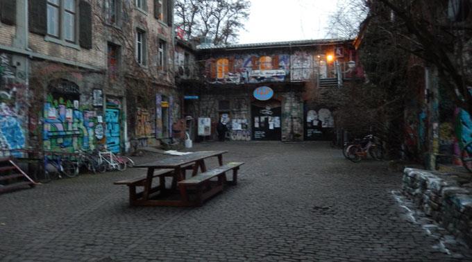 Die Reitschule ist der Jungen SVP des Kanton Berns ein Dorn im Auge.