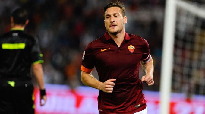 Francesco Totti erzielte den Treffer in der 85. Minute. (Archivbild)